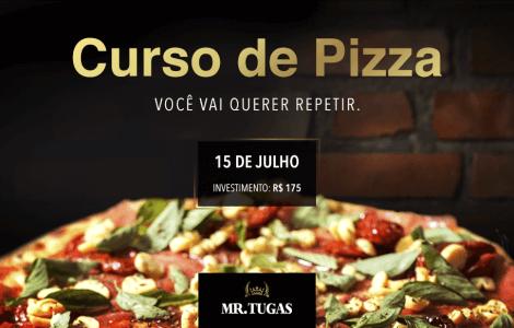 Mr. Tugas - Curso de Pizza - Imagem Site