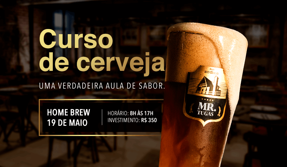 Mr. Tugas - Curso de Cerveja 2018